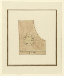 Drawing, Design for Pianocase, ca. 1916