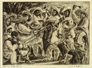 Print, Mexican Folk Band (Mexican Band)