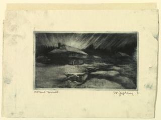 Print, Old Fort Toronto
