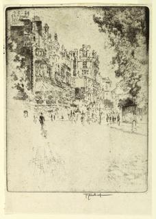 Print, Park Lane, 1904