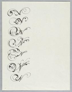 Calligraphy, Calligraphy Worksheet