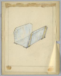 Drawing, Wood Holder, 20th century