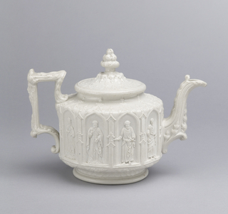 Apostles Teapot And Lid