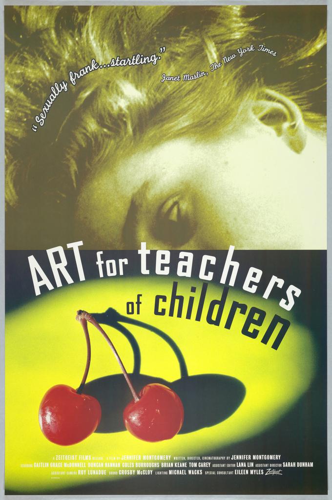 Poster, Motion Picture Poster: Art for Teachers of Children, 1995