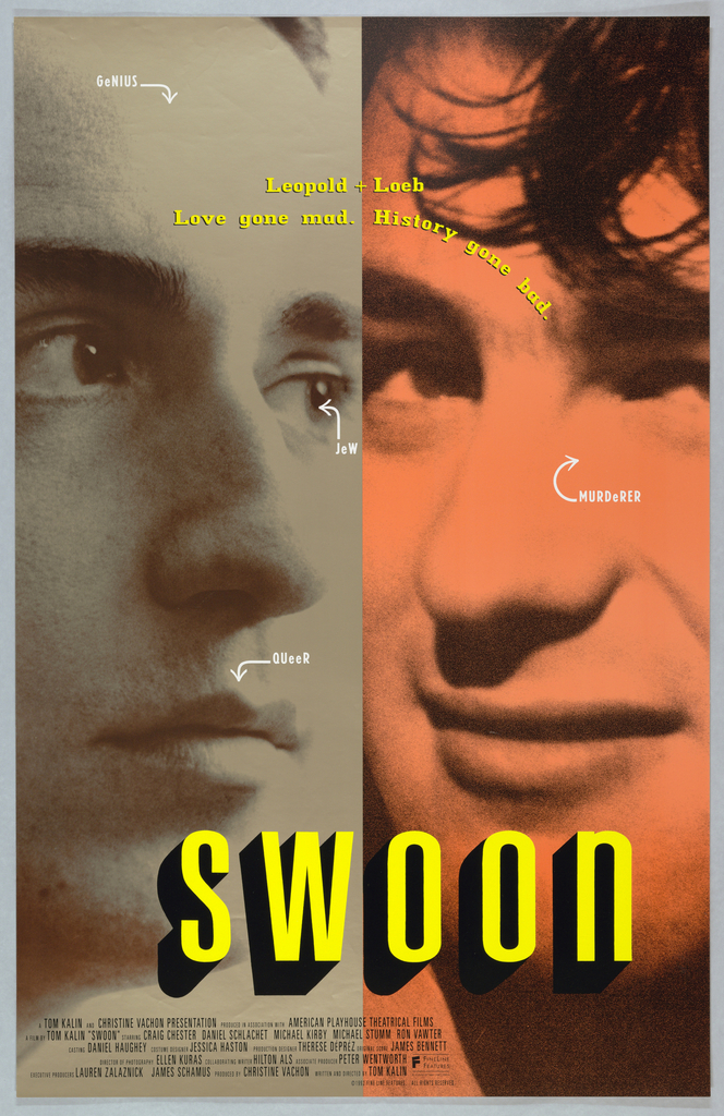 Poster for the movie Swoon