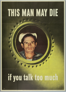 Poster, This Man May Die