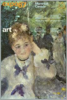 Poster, Expo 67 Art Montréal, 1967