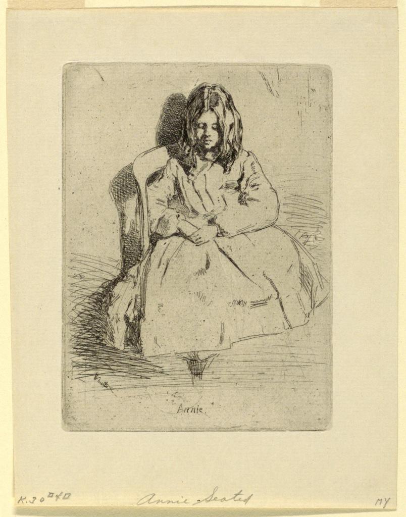 Print, Annie, Seated
