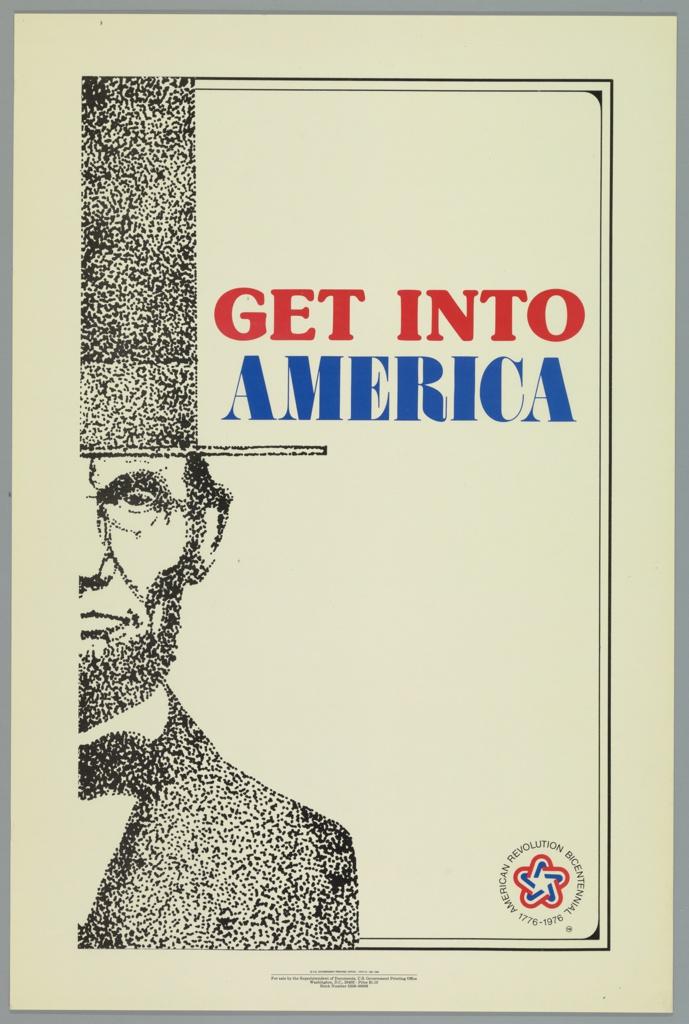 Poster, American Bicentennial, 1974