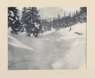 Photograph, Snowy Landscape, ca. 1930-35