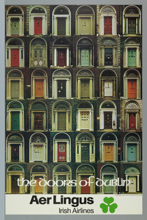Poster, Irish Tourist Board: The Doors of Dublin