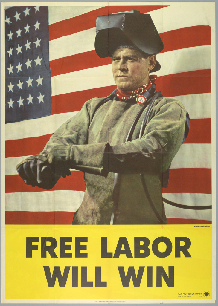 Poster, Free Labor Will Win