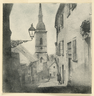 Photograph, Street in Pressburg, Czecho-Slovakia, 1931