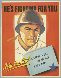 Poster, He's Fighting For You/Join the Club