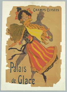 Poster, Palais de Glace, Champs-Elysees, ca. 1896