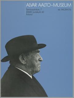 Poster, Alvar Aalto Museum