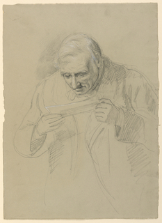 Drawing, Daniel Huntington's Father, 1859