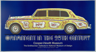 Poster, Ornament in the 20th Century, 1978