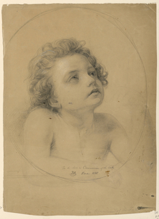 "Drawing, Study for ""Communion of the Sick"", 1845"