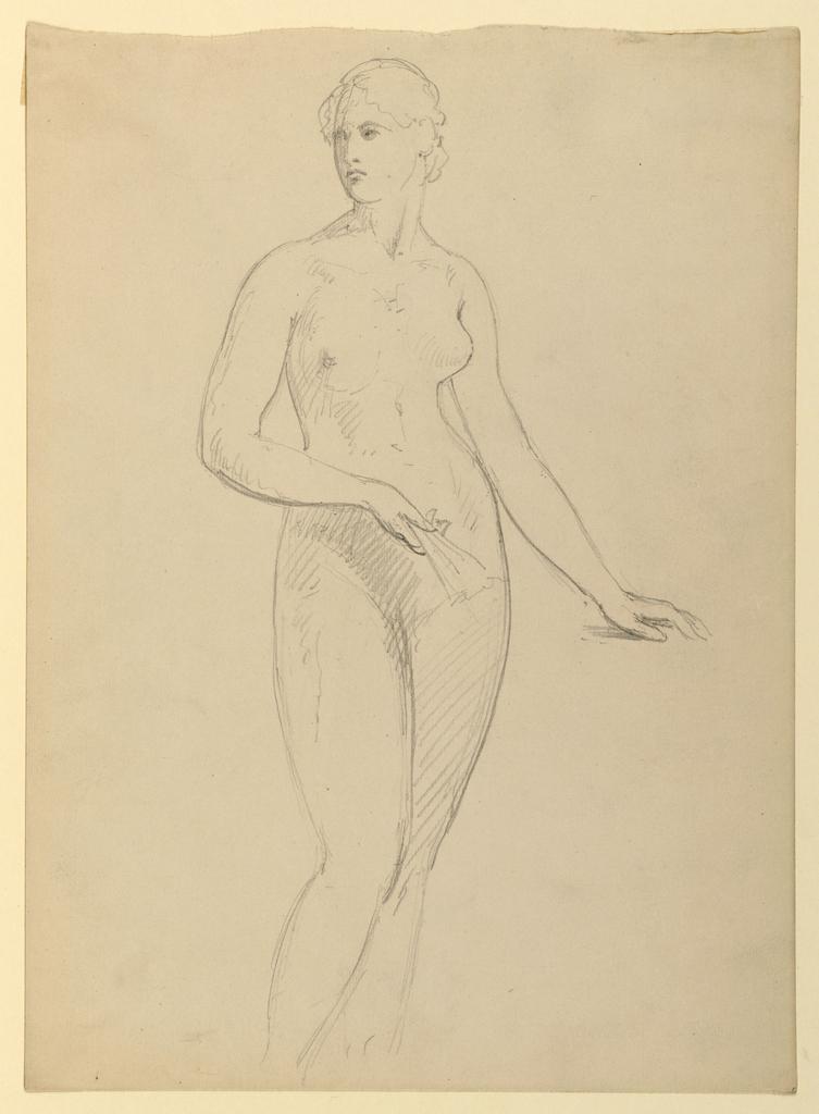 Drawing, Mrs. Henry Schieffelin, S, 1881