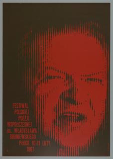 Poster, Festival Polskiej 1967