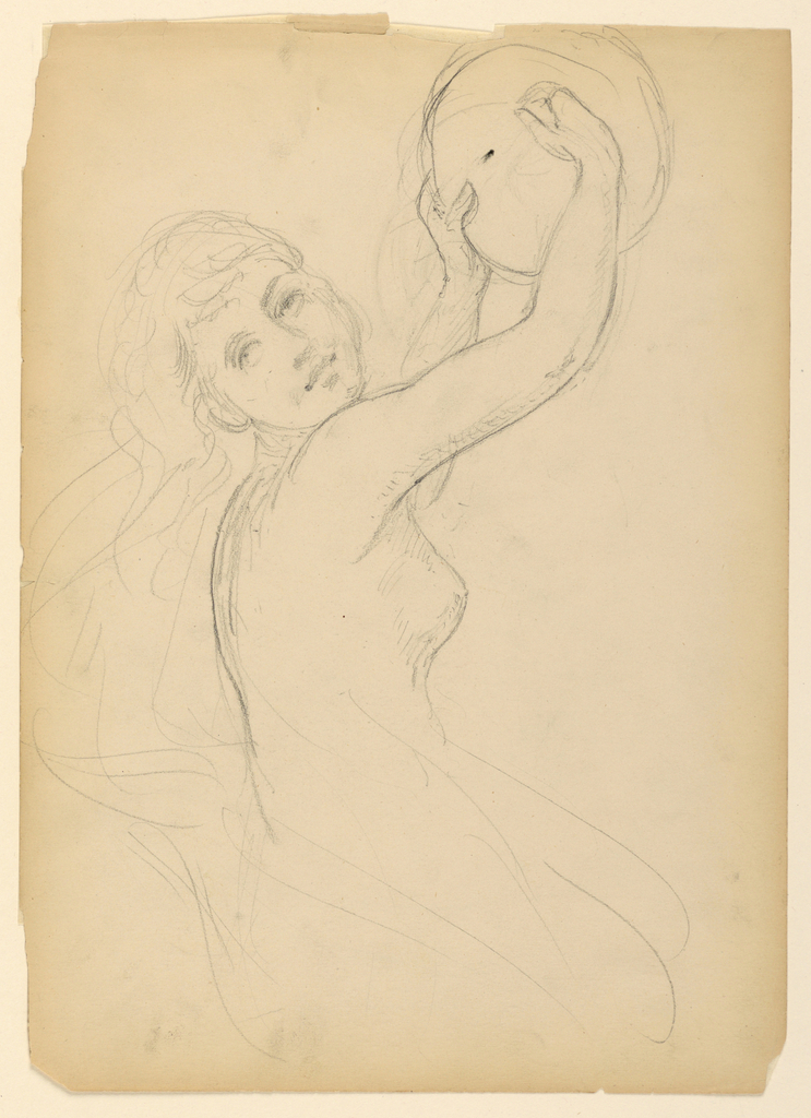 Drawing, Study for The National Ac, 1887