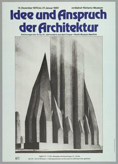 Poster, idee und...Architectur, 1979