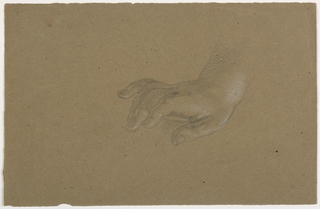 Drawing, Right Hand Study, 1850–60