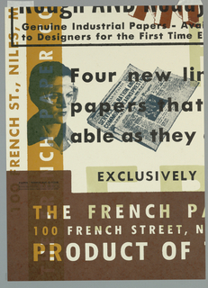"Poster, ""Four New Lines of Utilit, 1994"
