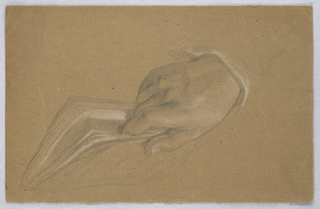 Drawing, Possible Study for Alexan, 1864