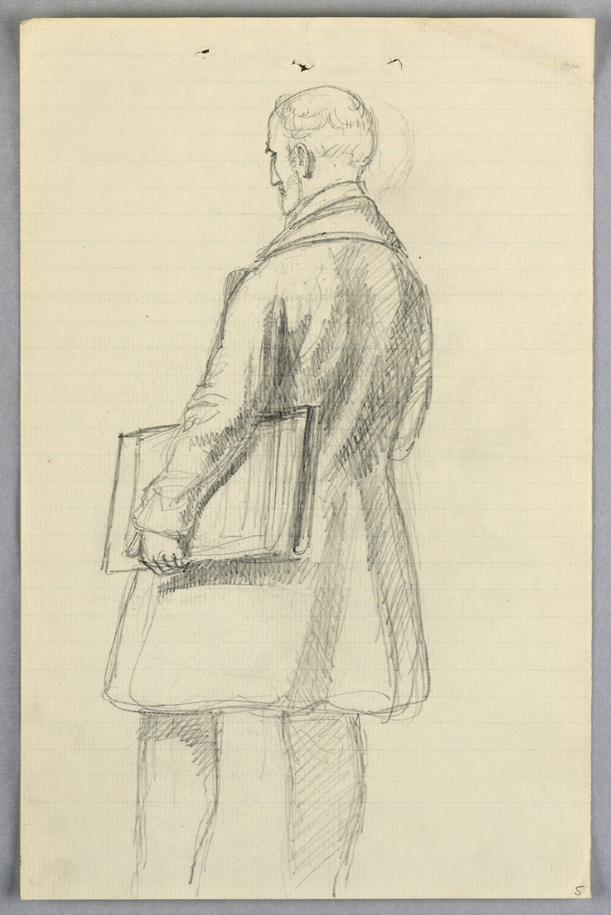 """Drawing, Study for """"Scientific Group"""", 1858"""