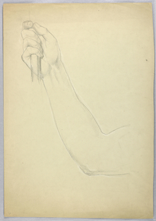 "Drawing, Study for Duplicate of ""C, 1850"