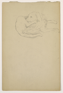Drawing, Dash (a Setter), ca. 1862