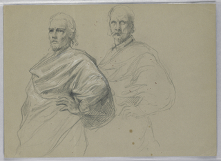 "Drawing, Study for ""Titian Showing, 1871–72"