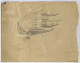 "Drawing, Study for ""Martha Reprove, February 1855"