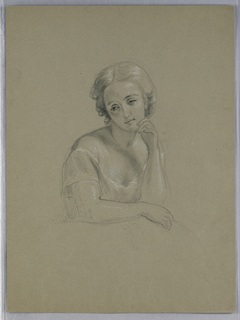 "Drawing, Possible Study for ""Marth, 1860"