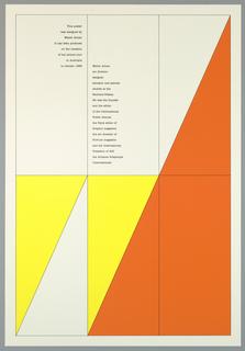 Poster, Walter Allner Australia Lecture Tour, 1983
