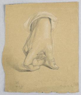 Drawing, General Alexander Hamilto, March 1851