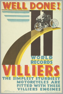 Poster, Well Done! 11 World Records, Villiers