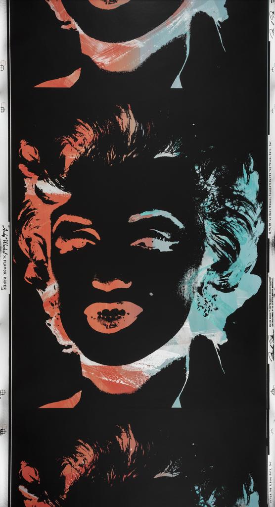 Sidewall, Marilyn Monoprint