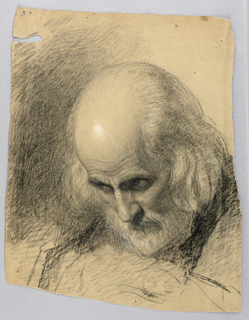 "Drawing, Study for ""A Lesson of Charity"", 1863"