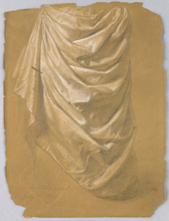 """Drawing, Study for """"Martha Reprove, January 18, 1857"""