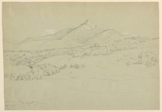 Drawing, Mt. Chicorua from Hill Near Tamworth Village