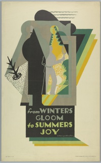 Poster, From Winters Gloom to Summers Joy, London Underground