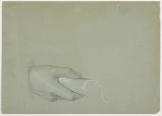 "Drawing, Study for ""Tribute Money"", 1852"