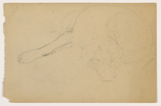 Drawing, Miol (a Pointer), ca. 1862