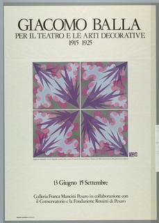 Poster, Litografia Vecchione