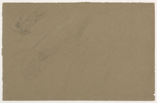 Drawing, Right Hand Studies, 1850–60