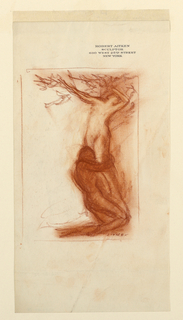 Drawing, Apollo and Daphne, ca. 1921