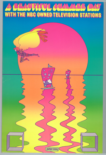 Poster, A Beautiful Summer Day, NBC, 1970
